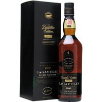 70cl / 43% / Distillery Bottling - The 2006 Distillers Edition release of Lagavulin, distilled in 1990.  Finished in casks that used to hold sweet Pedro Ximenez sherry.  As a result, this is a rich, peaty malt with a sweet undertone.