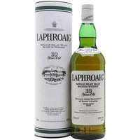 100cl / 43% / Distillery Bottling - A litre bottle of 10-year-old Laphroaig from sometime in the second half of the 1990s - this was release after the Royal Warrant was awarded to the distillery in 1994.