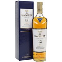 70cl / 40% / Distillery Bottling - Macallan 12 Year Old Double Cask has been aged in a combination of American oak and ex-sherry casks. This is a rich whisky which combines fruity citrus and caramel with spicy ginger and nutmeg.