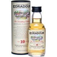 5cl / 40% / Distillery Bottling - A miniature of Edradour's regular 10 year old bottling.