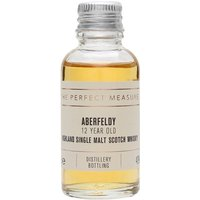 3cl / 40% / The Perfect Measure - A perfect introduction to Aberfeldy, the 12 Year Old is fruity with subtle notes of honey and spice. A great value-for-money whisky from the distillery that is the heart of Dewars' blends.