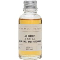 3cl / 40% / The Perfect Measure - Only released in 2015 as part of Aberfeldy's relaunched range, the 16 Year Old has already won many fans. Part matured in bourbon casks which have added sweetness, with the sherried element offering spiciness.