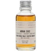 3cl / 54.3% / The Perfect Measure - This 14-year-old Arran was selected by customers of The Whisky Exchange. Distilled in 2002, it's rich and spicy with notes of coriander and cardamom.