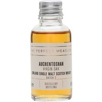 3cl / 46% / The Perfect Measure - The second batch of Auchentoshan's expression aged entirely in new North American casks. This is complex and rich, with extra spice from the virgin oak.