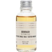 3cl / 43% / The Perfect Measure - Benriach's 16-year-old whisky is a rich and rounded dram with notes of honey, vanilla, toffee apples and cream.
