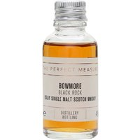 3cl / 40% / The Perfect Measure - Black Rock is a heavily sherried release from Bowmore. This is rich and smoky with notes of blackcurrant, toffee and cinnamon.