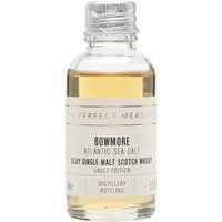 3cl / 51.5% / The Perfect Measure - The first in the four-part Vault Editions series from Bowmore which highlights one characteristic of the distillery's style. This named Atlantic Sea Salt and displays the distillery's smoky and fruity nature with a coastal backbone.