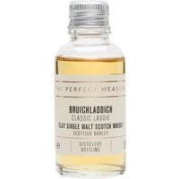 3cl / 50% / The Perfect Measure - Classic Laddie is the signature bottling from Bruichladdich. Rich and creamy with notes of sea spray and fresh fruit.