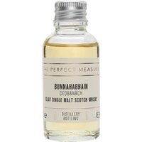 3cl / 46.3% / The Perfect Measure - Ceobanach is a heavily peated whisky from Bunnahabhain. Aged in bourbon casks for at least 10 years, this has notes of sea spray and spice.