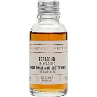 3cl / 46% / The Perfect Measure - This 15-year-old whisky from Edradour is classically sherried with notes of Christmas cake and dark chocolate. This was named after the Scottish film The Fairy Flag.
