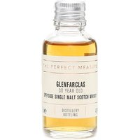 3cl / 43% / The Perfect Measure - Full bodied and complex, Glenfarclas 30 Year Old is an extraordinarily deep spirit, warm and rich, with tempting aromas of fruit cake, roasted nuts and dark chocolate. One to sip and savour.