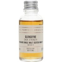 3cl / 58.8% / The Perfect Measure - The fourth batch of Glengoyne's no-age-statement cask-strength release. Rich and spicy with notes of oranges and nuts.