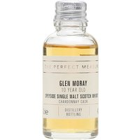 3cl / 40% / The Perfect Measure - This 10-year-old whisky from Glen Moray has been aged entirely in Chardonnay casks. Creamy and buttery with notes of orange and marmalade.
