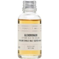 3cl / 46% / The Perfect Measure - A young whisky from Glendronach, aged for eight years and named The Hielan. Crisp and lightly sweet with notes of butterscotch, sultanas and apricot jam.