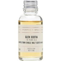 3cl / 46% / The Perfect Measure - A rich and spicy 18-year-old whisky from Glen Scotia. This has been turning heads since it launched back in 2013.