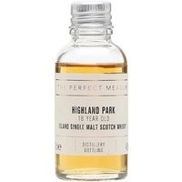 3cl / 43% / The Perfect Measure - Highland Park 18 Year Old is a perennial favourite. Rich and spicy with heather honey, toffee and smoke.