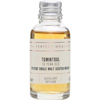 3cl / 40% / The Perfect Measure - Tomintoul 16 Year Old is a soft an approachable whisky with notes of nuts, apples and pears.