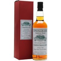 70cl / 46% / Distillery Bottling - A special bottling of Madeira-matured Springbank 8yo presented to directors and staff of distillery owners J & A Mitchell at Christmas 2004.