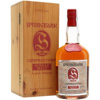 70cl / 46% / Distillery Bottling - A dumpy bottle of Springbank 25yo released in the 1990s, meaning the liquid was probably distilled in the late 1960s or early 1970s.  Say no more.