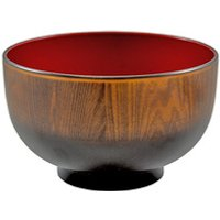 Soup Bowl - Brown And Red