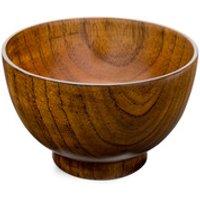 Wooden Miso Soup Bowl