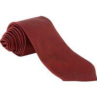 Plain Unisex School Tie, Maroon, L52