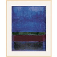 Rothko - Blue, Green and Brown