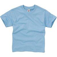 School Unisex T-Shirt, Sky Blue