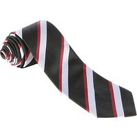 Alleyns Middle School Unisex House Tie, Tulleys House, Black Multi