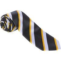 Alleyns Middle School Unisex House Tie, Ropers House, Black Multi