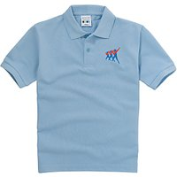 Taverham High School Unisex Poloshirt, Sky Blue