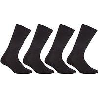 John Lewis Sport Cushion Sole Socks, Pack of 4