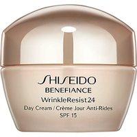 Shiseido Benefiance WrinkleResist24 Day Cream, 50ml