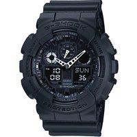 Casio GA-100-1A1ER Mens G-Shock Digital Black Rubber Strap Watch
