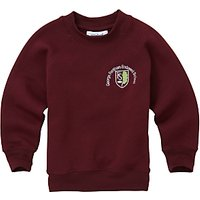 George Fentham Endowed School Unisex Sweatshirt, Maroon