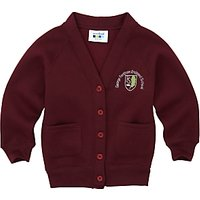 George Fentham Endowed School Girls Cardigan, Maroon
