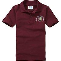 George Fentham Endowed School Unisex Polo Shirt, Maroon