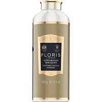 Floris Edwardian Bouquet Soothing Talc with Aloe Vera, 100g