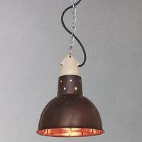 Davey Lighting Spun Reflector, Copper