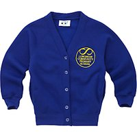 Longmoor Community Primary School Girls Cardigan, Royal Blue