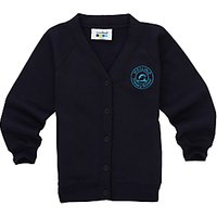 Melling Primary School Girls Cardigan, Navy
