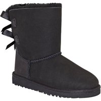 UGG Childrens Bailey Bow Boots, Black