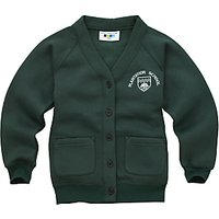 Plantation County Primary School Girls Cardigan, Green