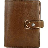 Filofax Leather Pocket Malden Organiser, Ochre