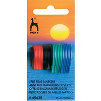 Pony Split Ring Stitch Markers