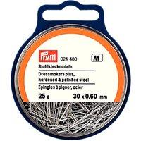 Prym Dressmakers Pins, 0.60 x 30mm, 25g Tub