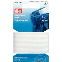 Gold-Zack Soft Elastic Tape, 40mm, White