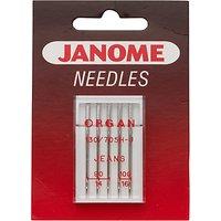 Janome Denim Needles, Pack of 5