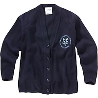 St Vincents Catholic Primary School Girls Cardigan, Navy