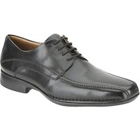 Clarks Frances Air Leather Derby Shoes, Black